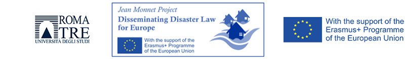 Jean Monnet Project Disseminating Disaster Law for Europe