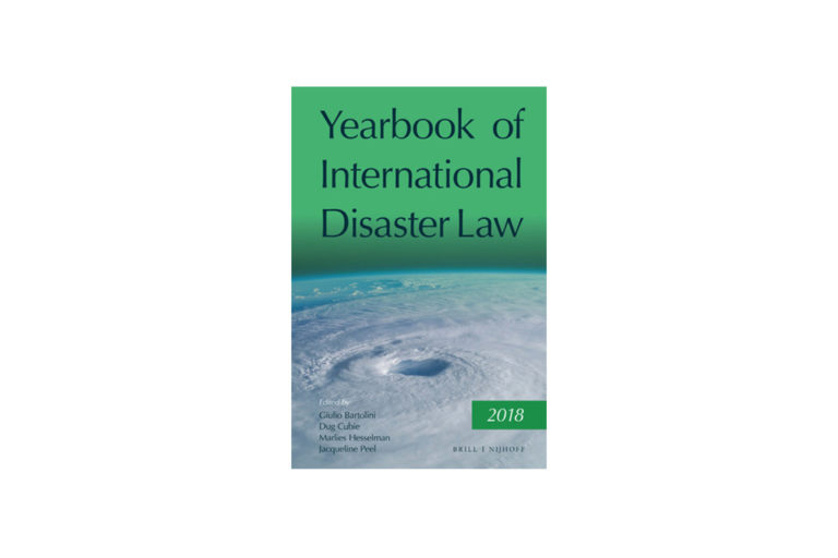 Launch of the Yearbook of International Disaster Law at the Geneva Academy IHL & HR